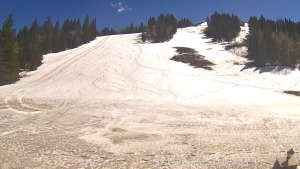 view of conditions at Moonbeam Lodge