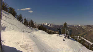 view of conditions at Powderhorn